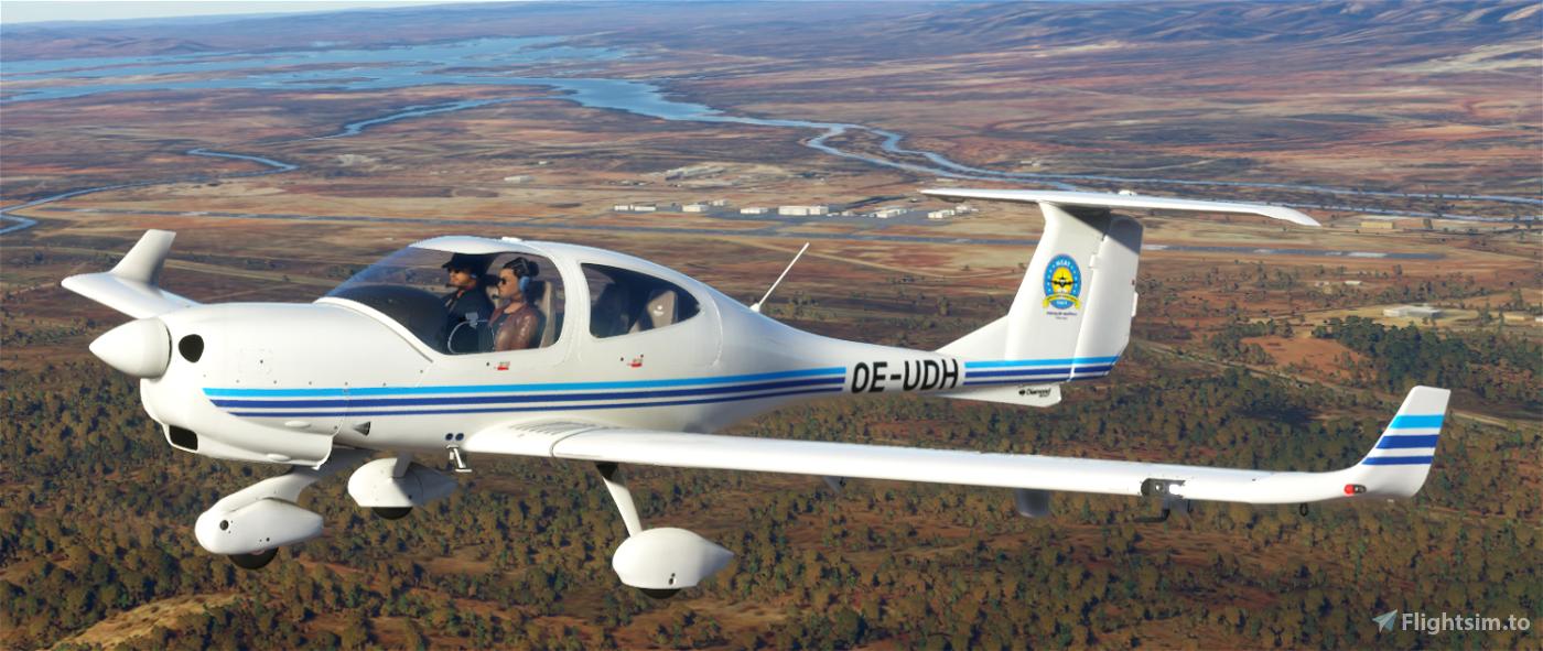 Diamond DA40 Nigerian College of Aviation Technology Flight Simulator 2020