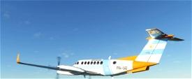 Prefectura Naval Argentina King Air 350 (fictional) Image Flight Simulator 2020