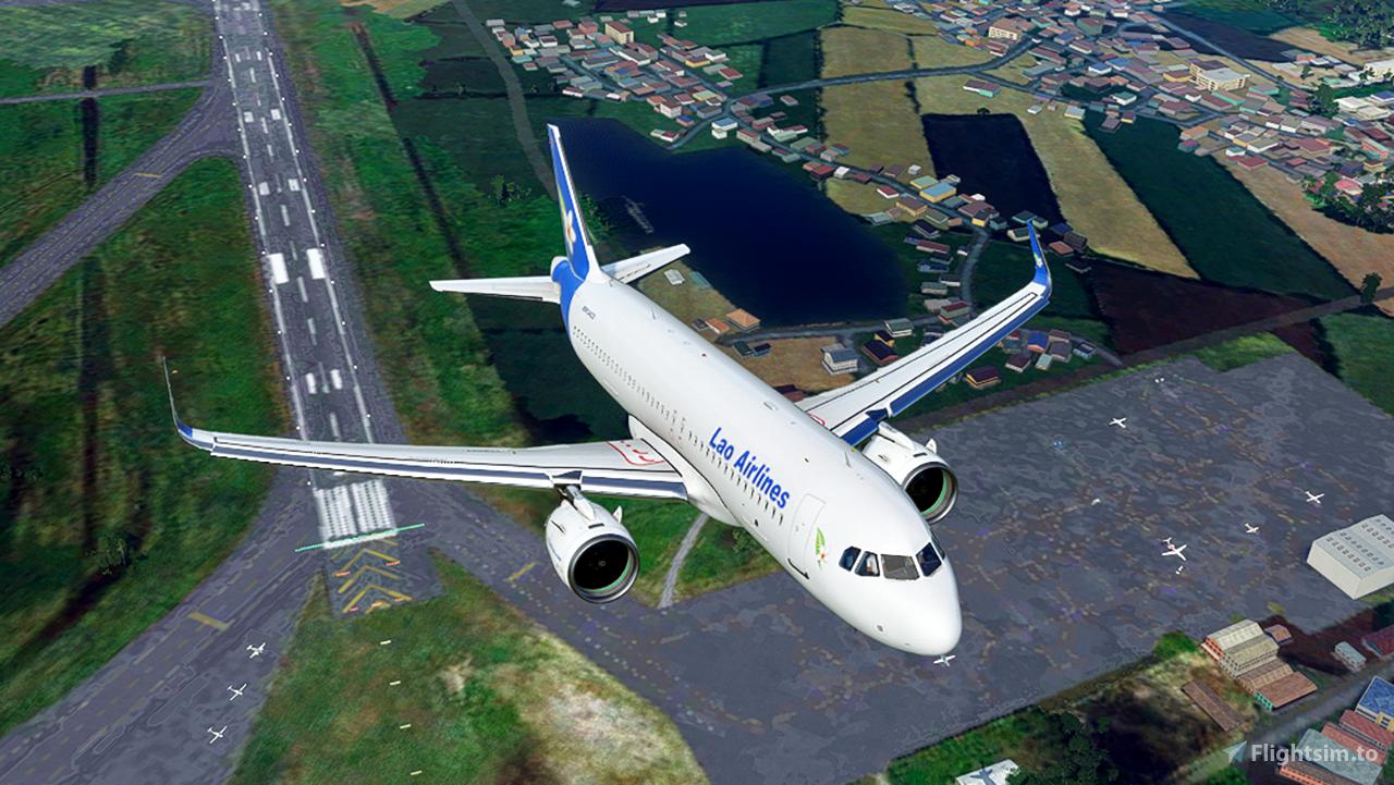 Lao Airlines [4K] Flight Simulator 2020