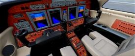 CJ4 panel, updated Image Flight Simulator 2020