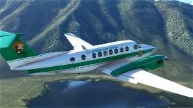 U.S. National Park Service Beechcraft King Air  Image Flight Simulator 2020