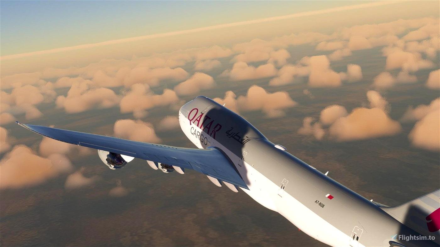 B747-8F Qatar Airways Cargo A7-BGB [8K]