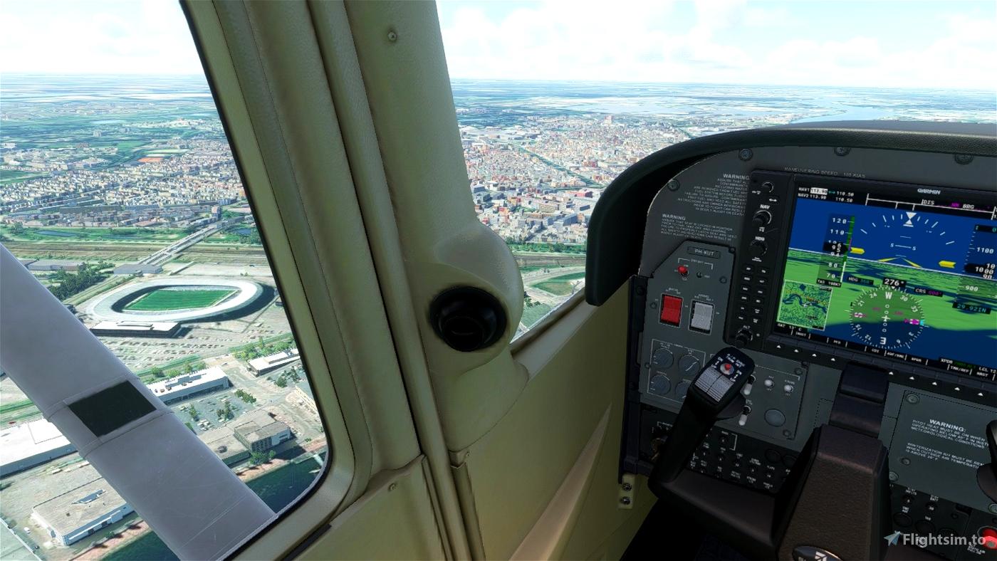 Tour over the Dutch Eredivisie Stadiums Flight Simulator 2020