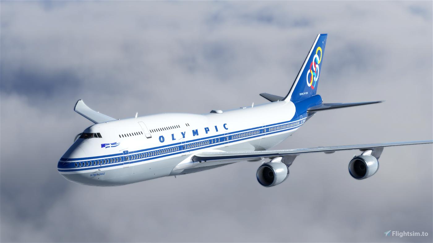 [8K] Olympic Airways (SX-OAB) Flight Simulator 2020