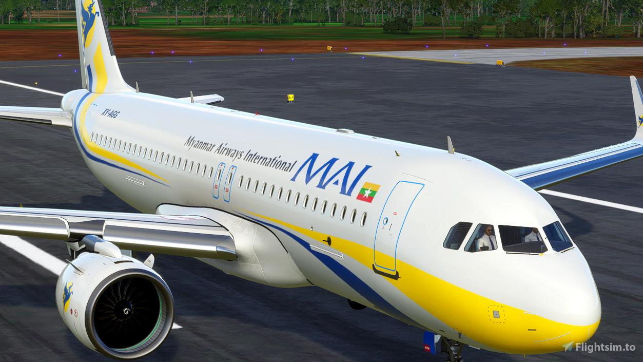 Myanmar Airways International [4K] Flight Simulator 2020