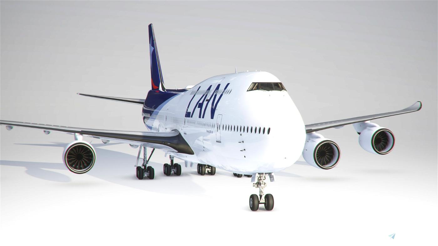 LAN Airlines 747-8 Flight Simulator 2020