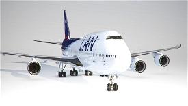 LAN Airlines 747-8 Image Flight Simulator 2020
