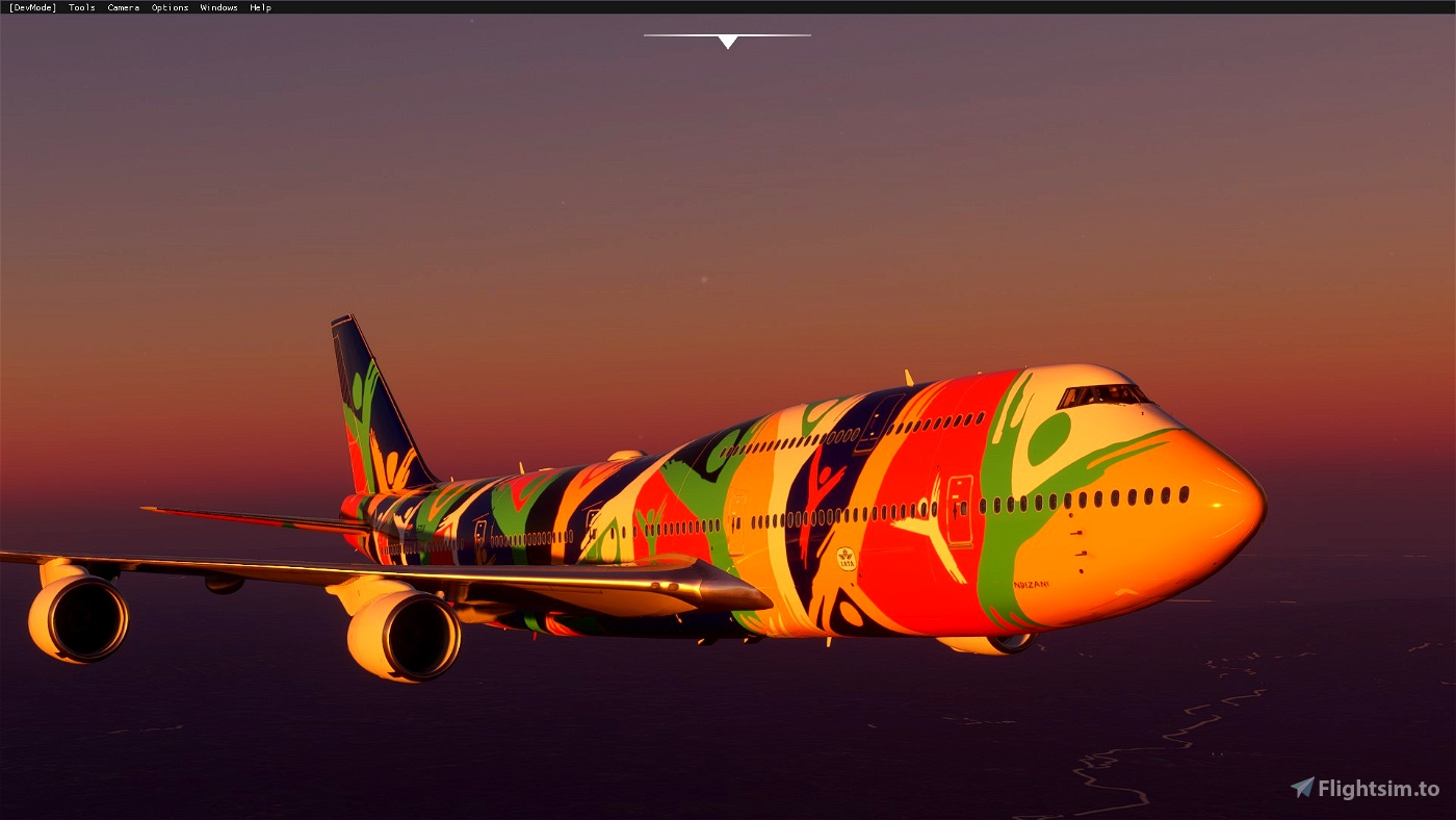 Boeing 747-8 South African Airways NDIZANI ZS-SAJ