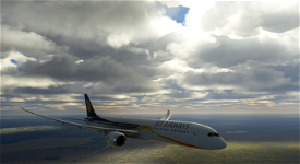 (8K) Jet Airways Boeing 787-10 Image Flight Simulator 2020
