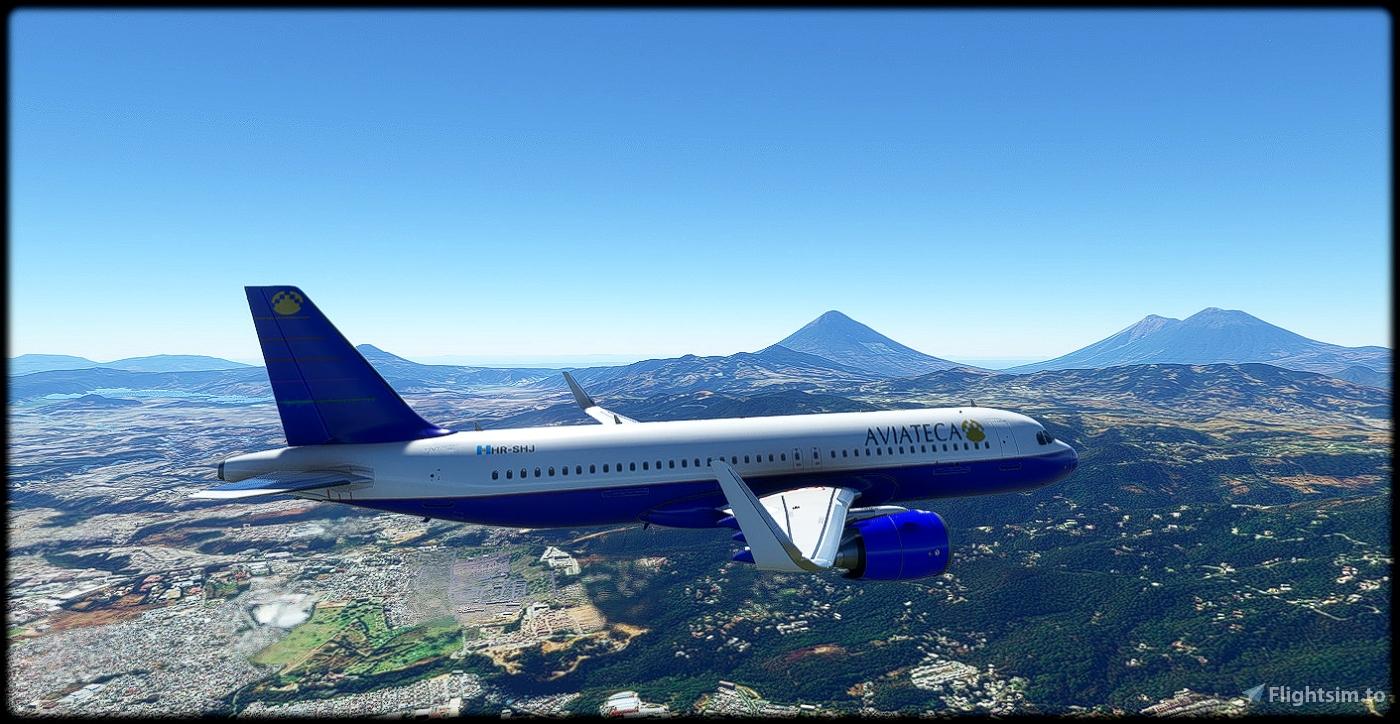 Aviateca Blue Flight Simulator 2020