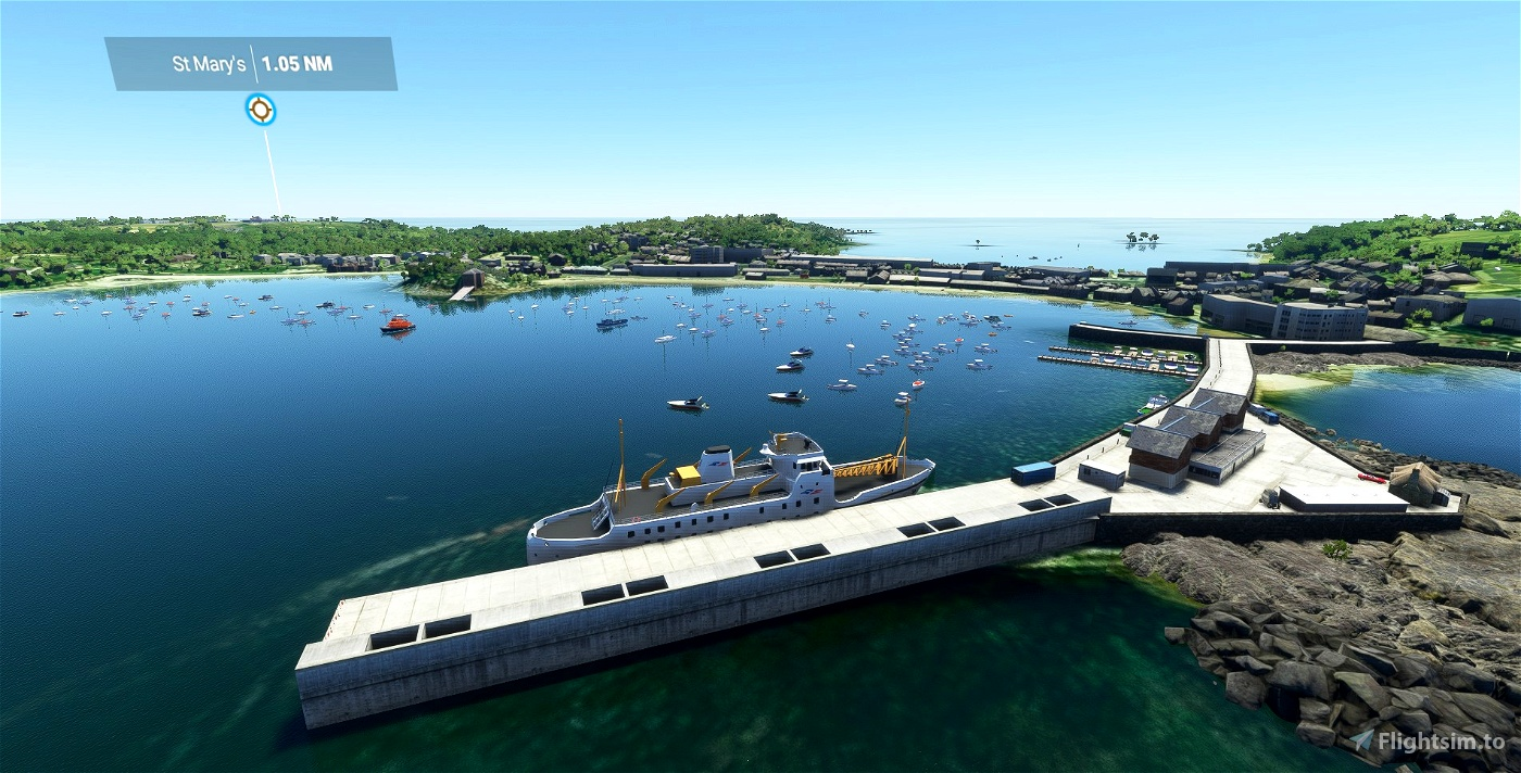 EGHE - St Mary's Airport & Isles of Scilly Scenery UK - Upgrade