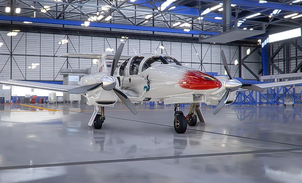 DA62 The Incredibles v1 Flight Simulator 2020