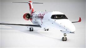 Citation Longitude Air Canada Rouge Image Flight Simulator 2020
