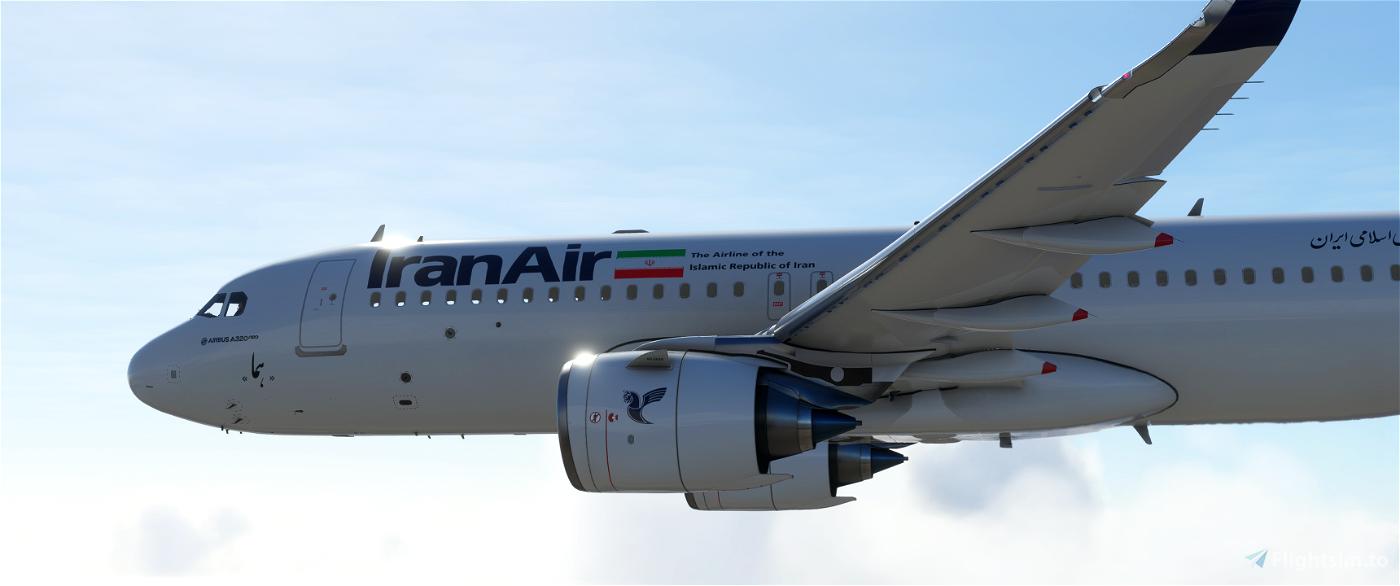 Iran Air A320 Neo - Classic Livery - 8k Flight Simulator 2020