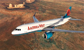 America West Airlines 90s A320neo [4K livery] Image Flight Simulator 2020