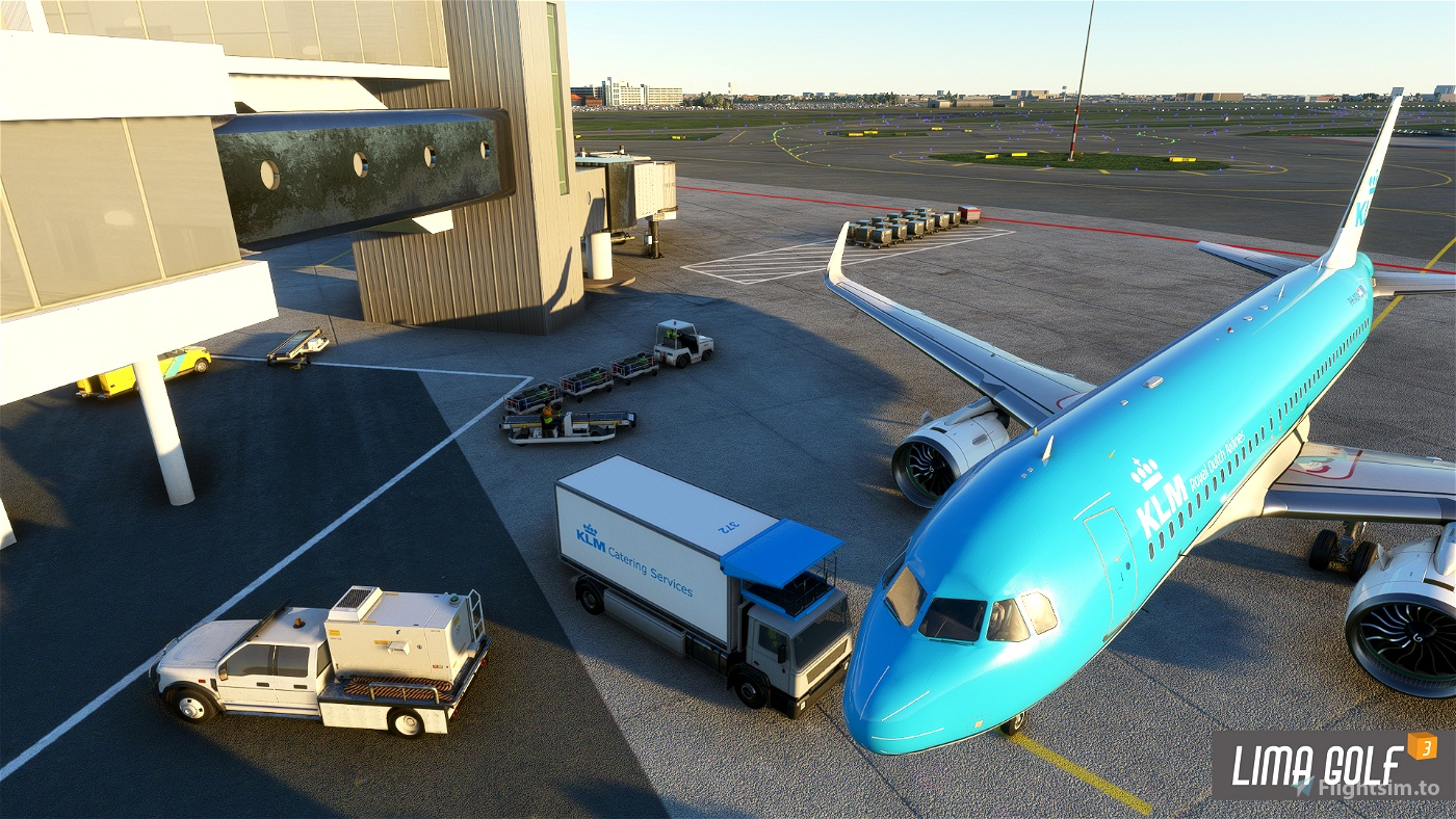 KLM Catering Truck livery Flight Simulator 2020
