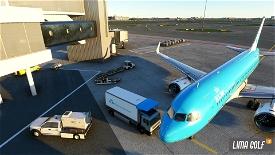 KLM Catering Truck livery Image Flight Simulator 2020