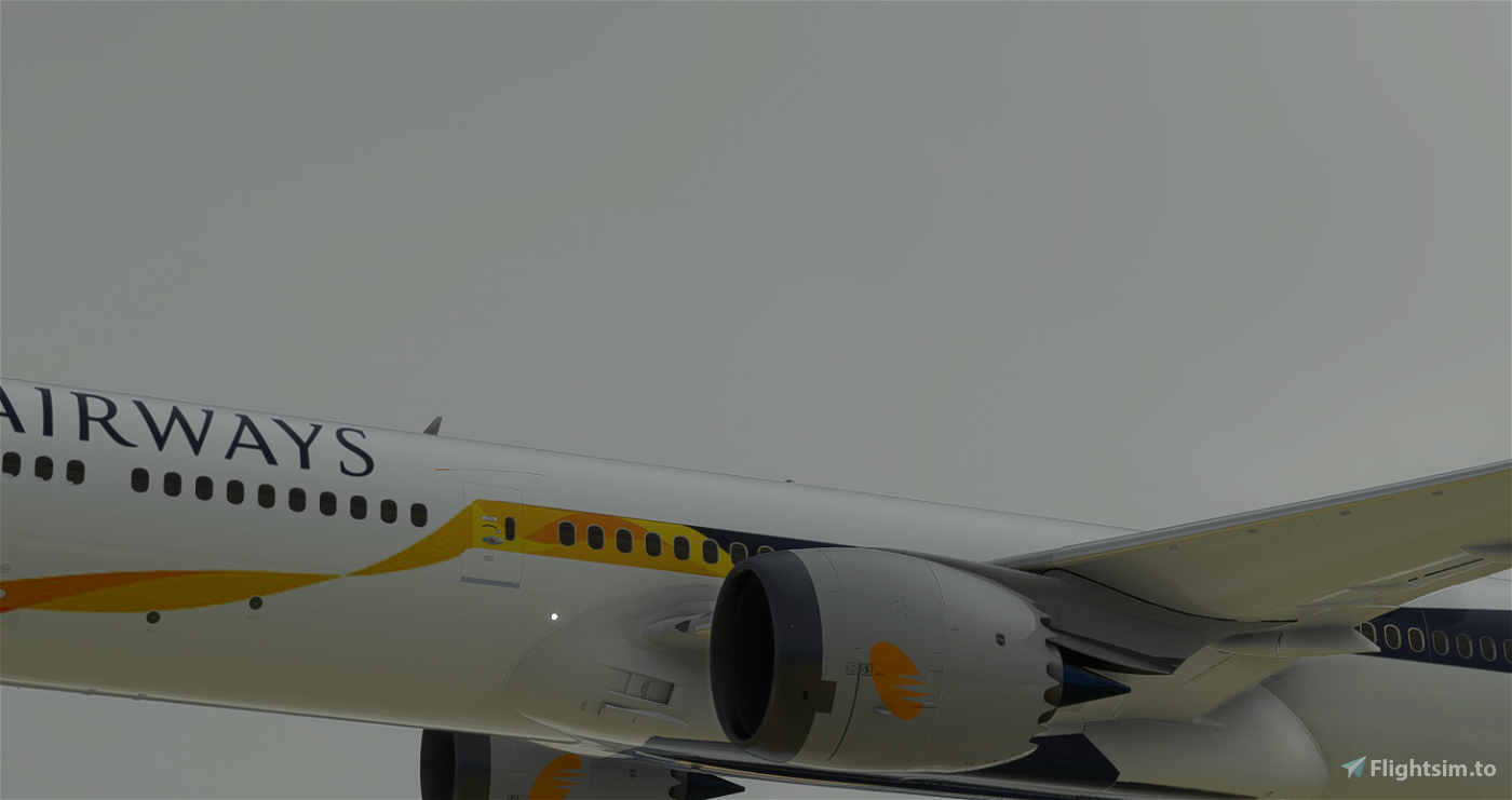 (8K) Jet Airways Boeing 787-10