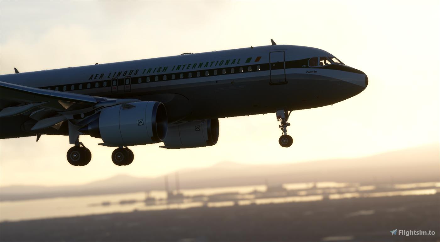 A320 Aer Lingus Retrojet