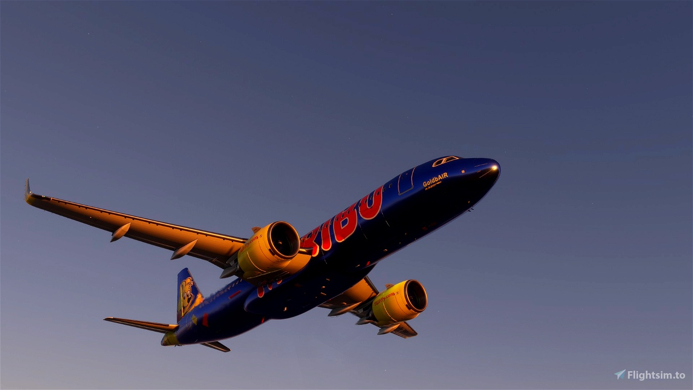 A320 NEO TUI Haribo GoldbAIR (Thomson Airways Limited)