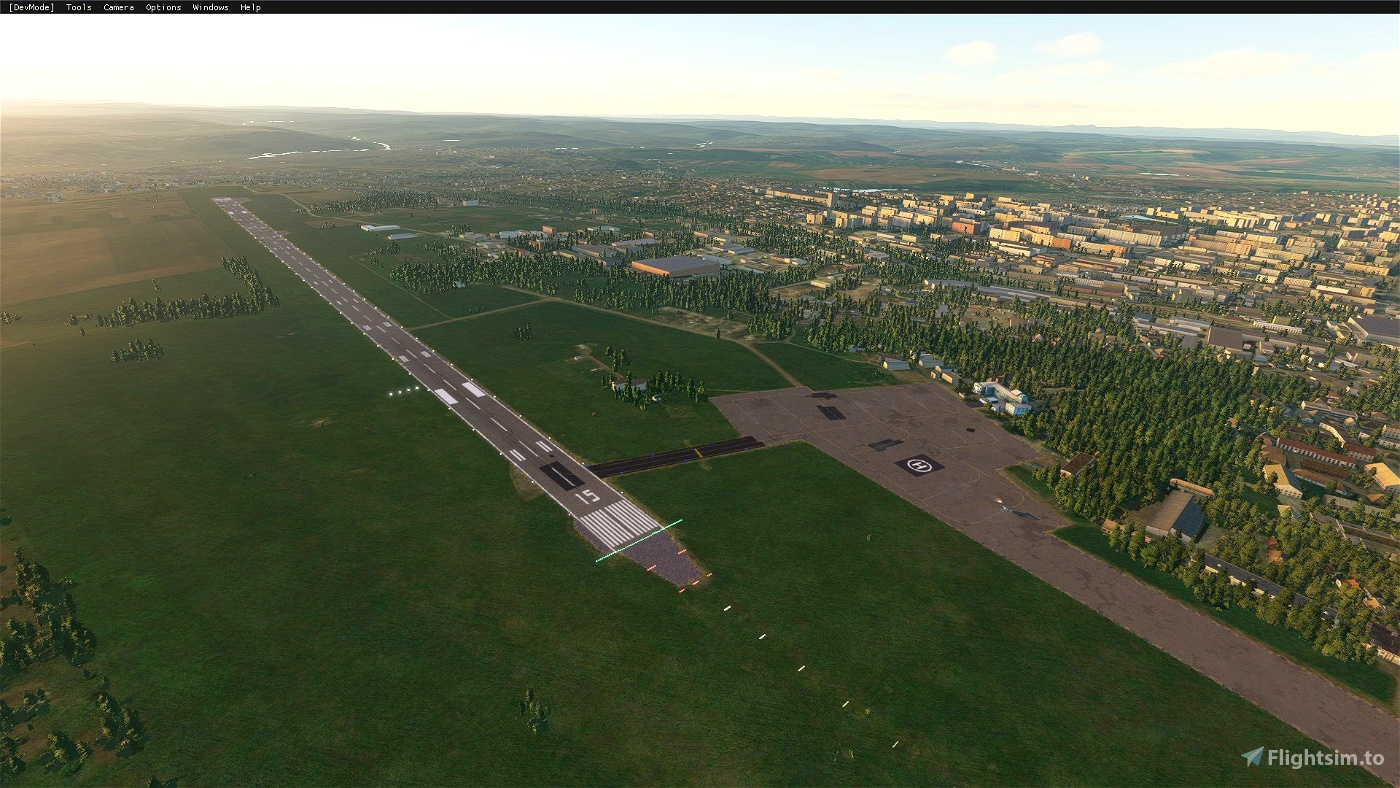 Chernivtsi International Airport — UKLN Flight Simulator 2020