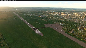Chernivtsi International Airport — UKLN Image Flight Simulator 2020