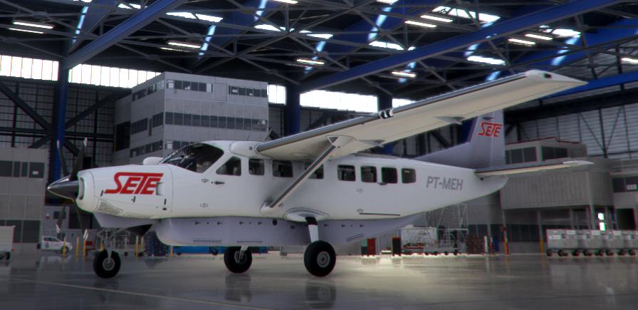 Sete Taxi Aéreo, PT-MEH Flight Simulator 2020