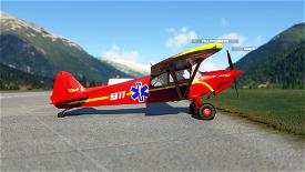 X-Cub Air Ambulance Image Flight Simulator 2020