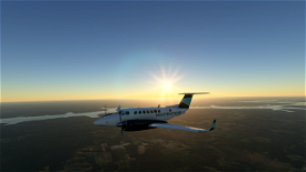 Pacific Mountain Air B350 (Fictional) Image Flight Simulator 2020
