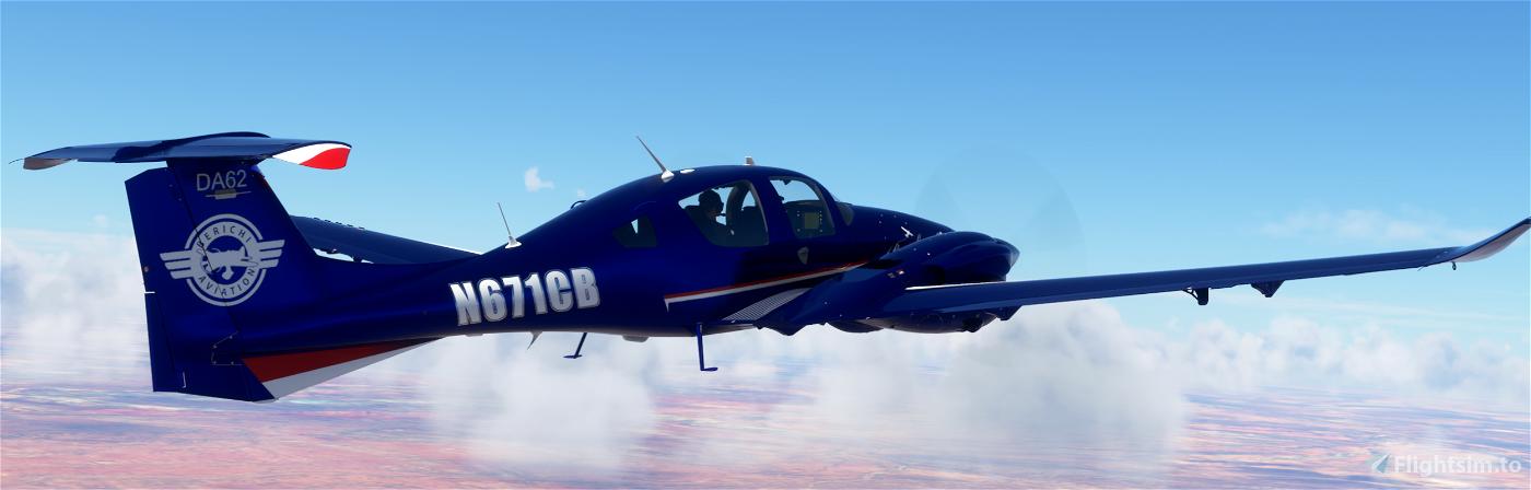 DA62 Berichi Aviation Flight School