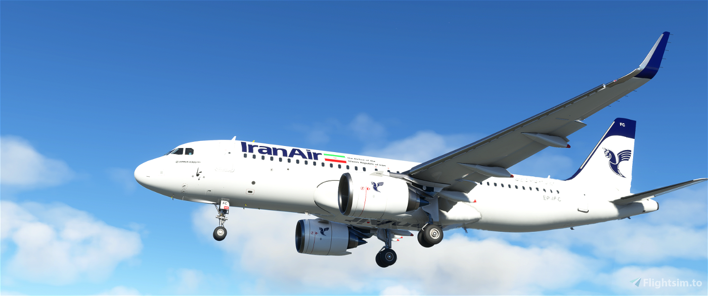 Iran Air A320 Neo - Classic Livery - 8k
