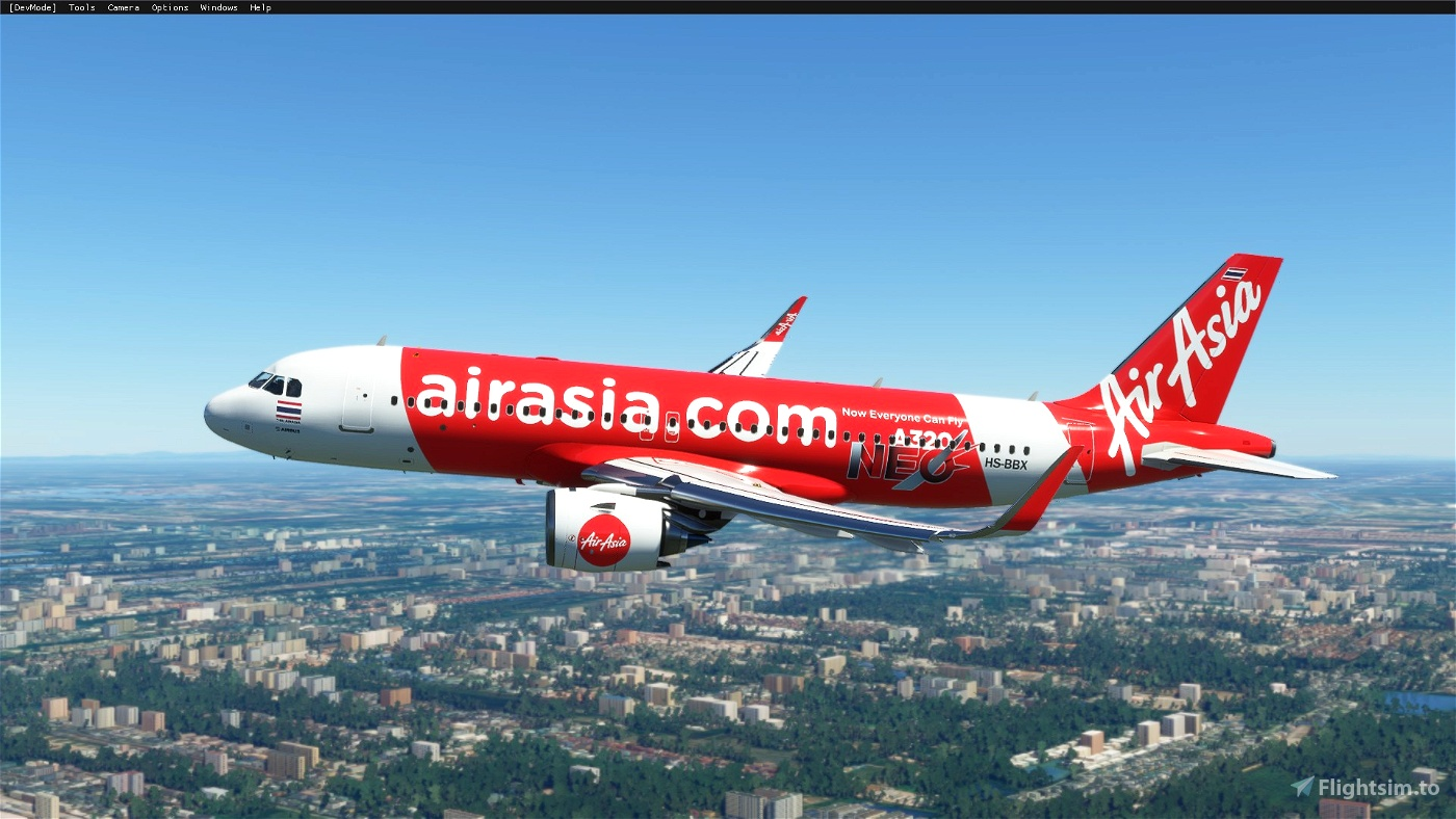 AirAsia Thai [8K](HS-BBX) Flight Simulator 2020