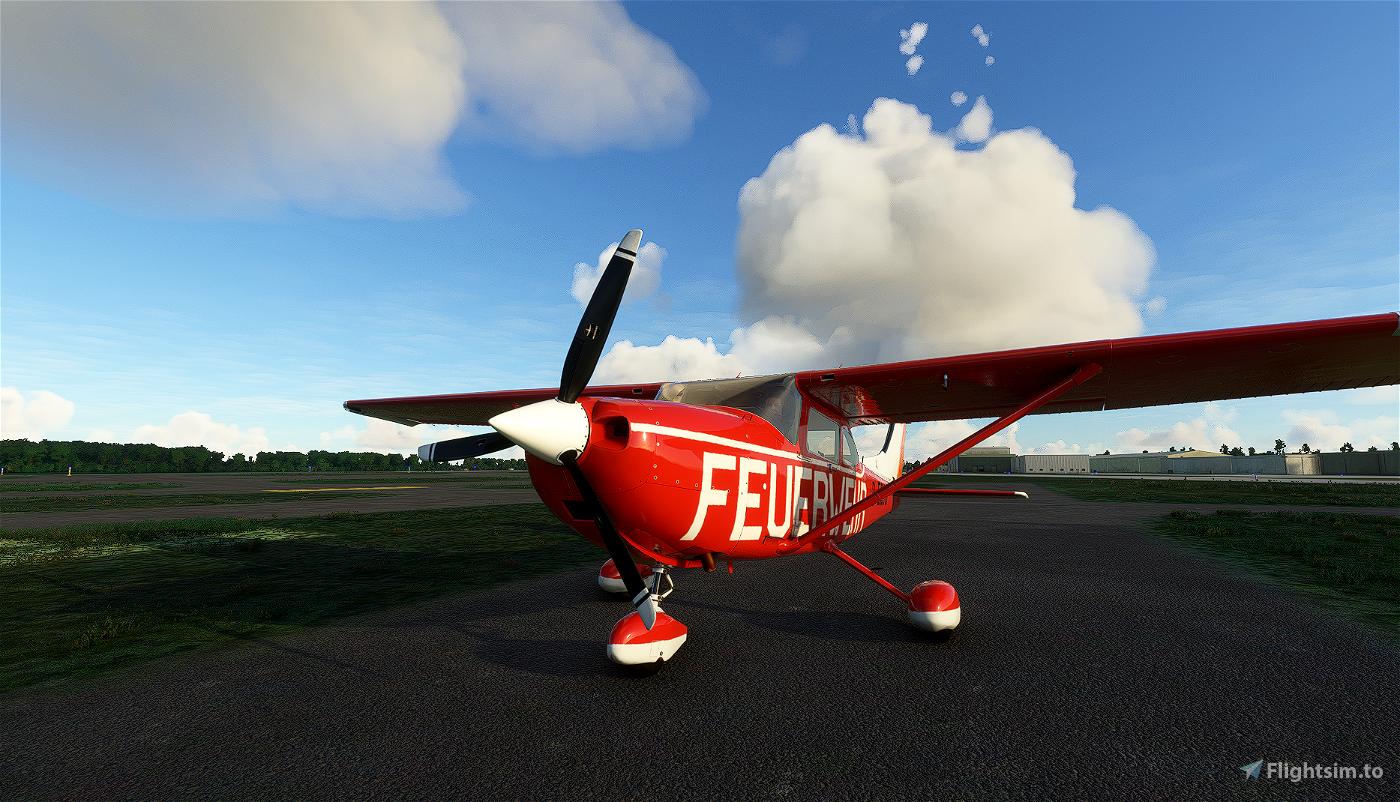 Carenado Cessna 182 Skylane_Feuerwehr Niedersachsen (Old) D-ECJG