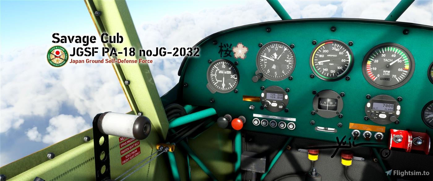 JGSF PA-18 noJG-2032 Flight Simulator 2020