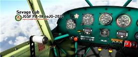 JGSF PA-18 noJG-2032 Image Flight Simulator 2020