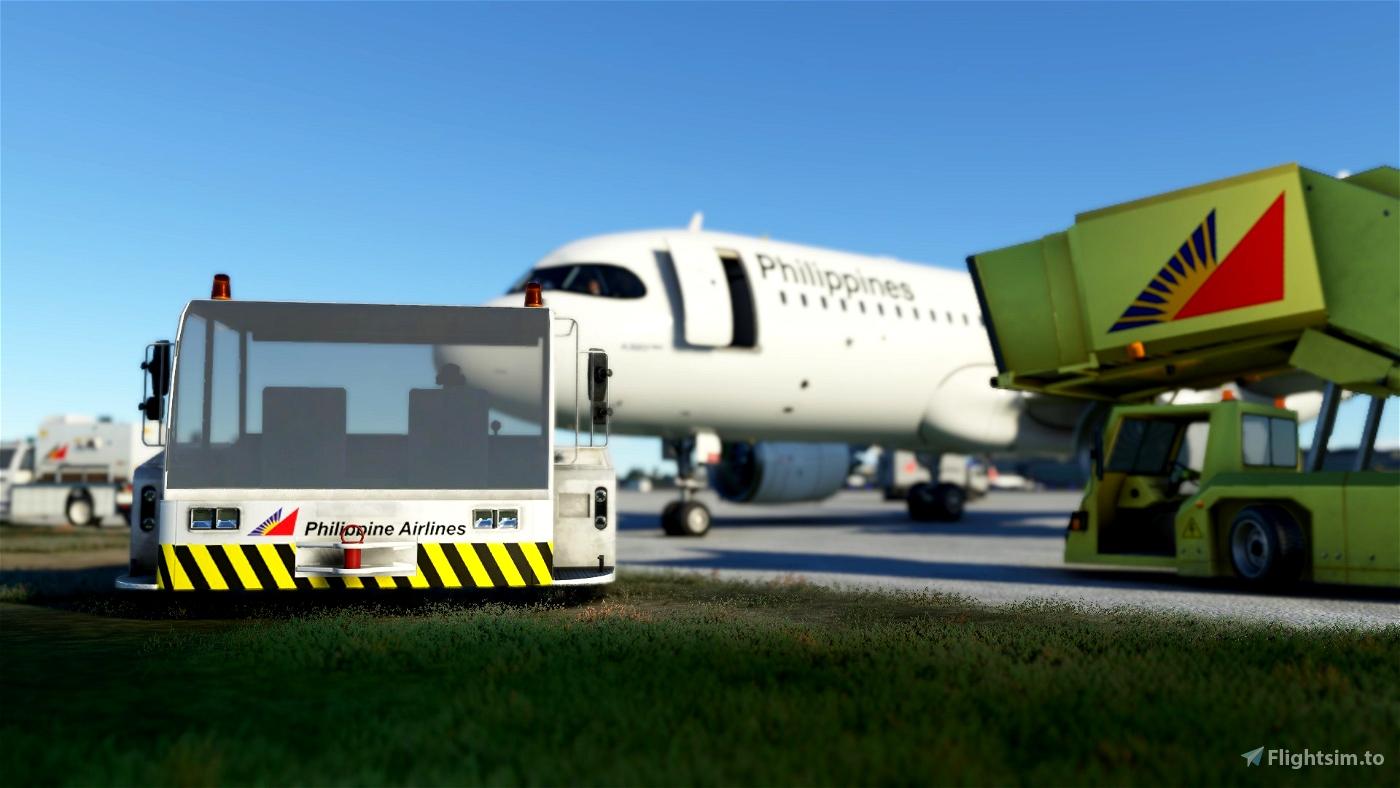 Philippine Airlines Ground Services Mod