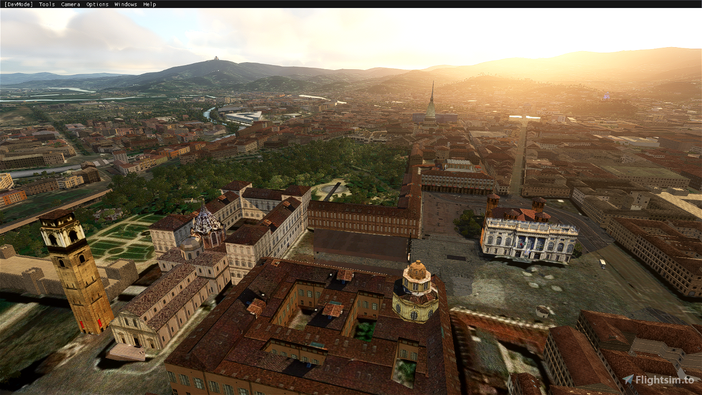 Torino landmarks - by Tatami