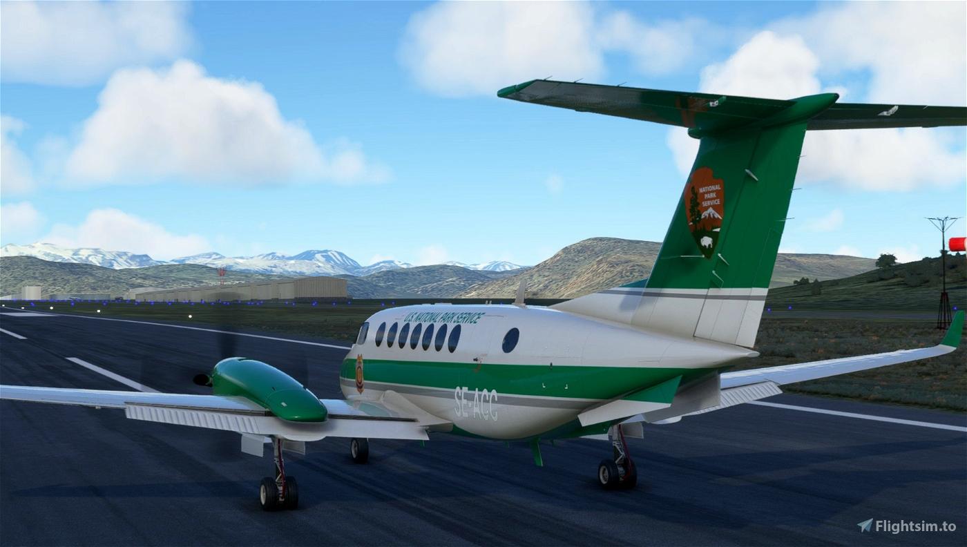 U.S. National Park Service Beechcraft King Air
