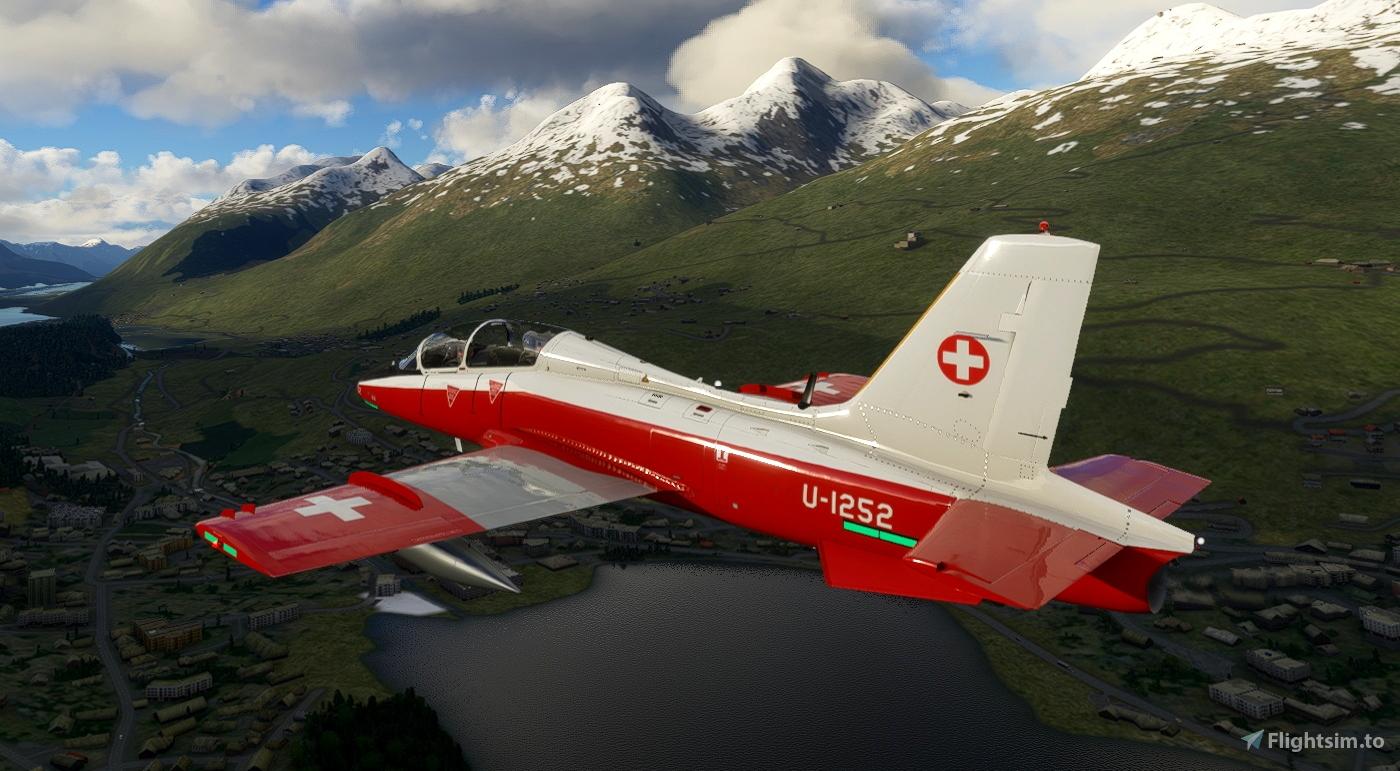 MB-339PAN Swiss Air Force U-1252 Flight Simulator 2020