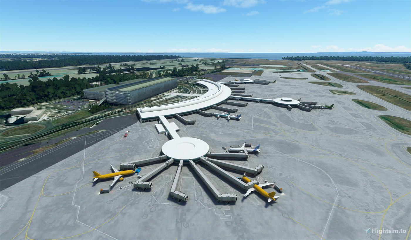 YBBN Brisbane International Airport