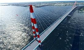 Pont de Saint Nazaire - Bridge of Saint Nazaire Image Flight Simulator 2020