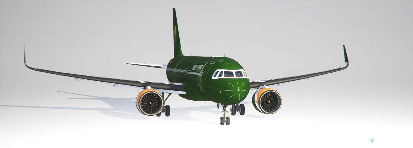 InsideA gameR Livery [8K Downscaled] Flight Simulator 2020