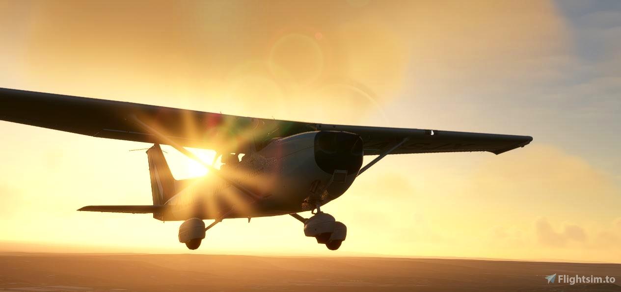 MALEV Cessna c172 HA-SJX (G1000)