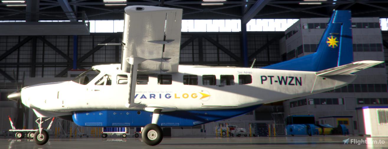 VarigLog C208B PT-WZN Flight Simulator 2020
