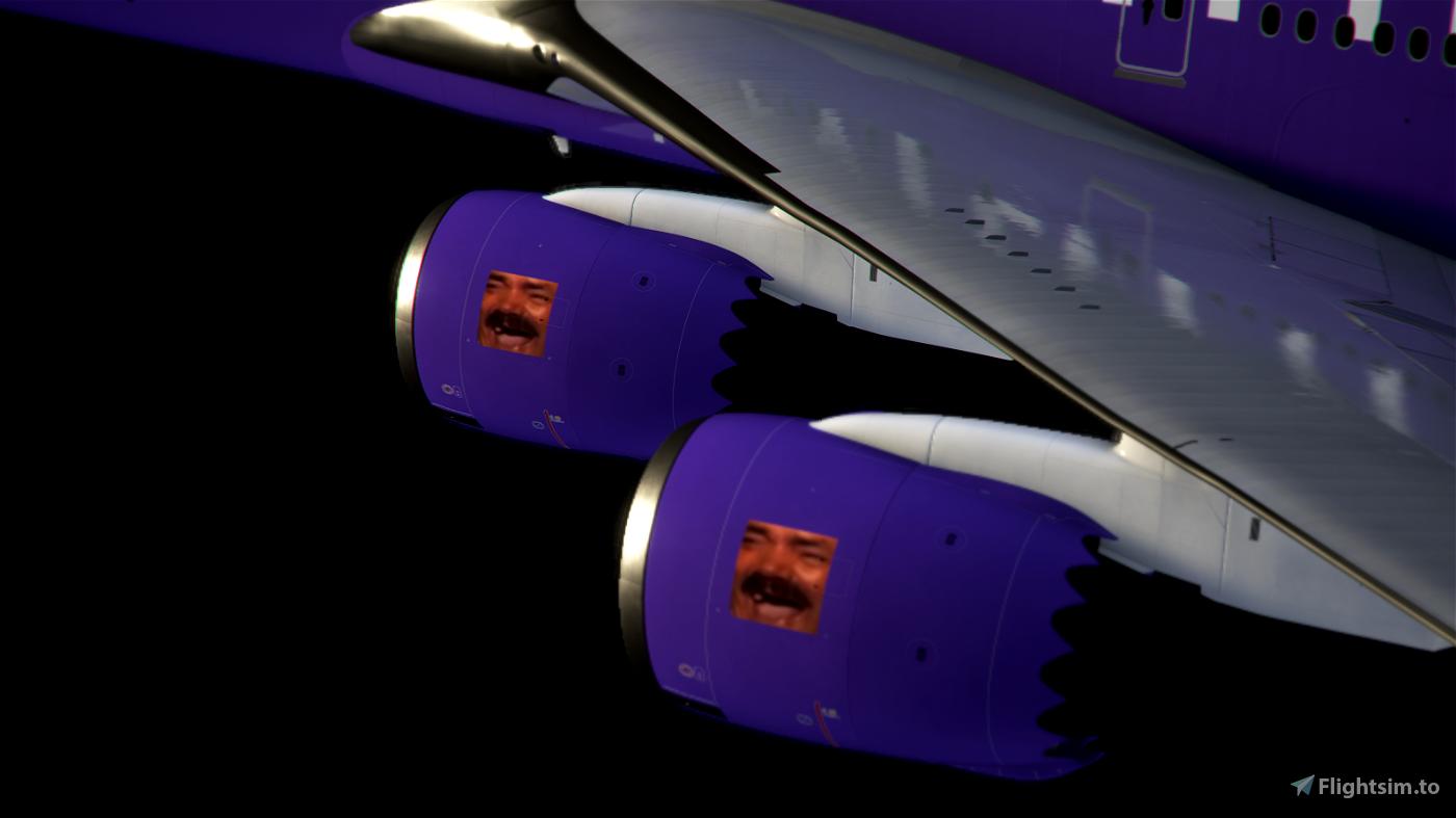 Come Fly With Me Twitch x BobbyFuzzy Livery