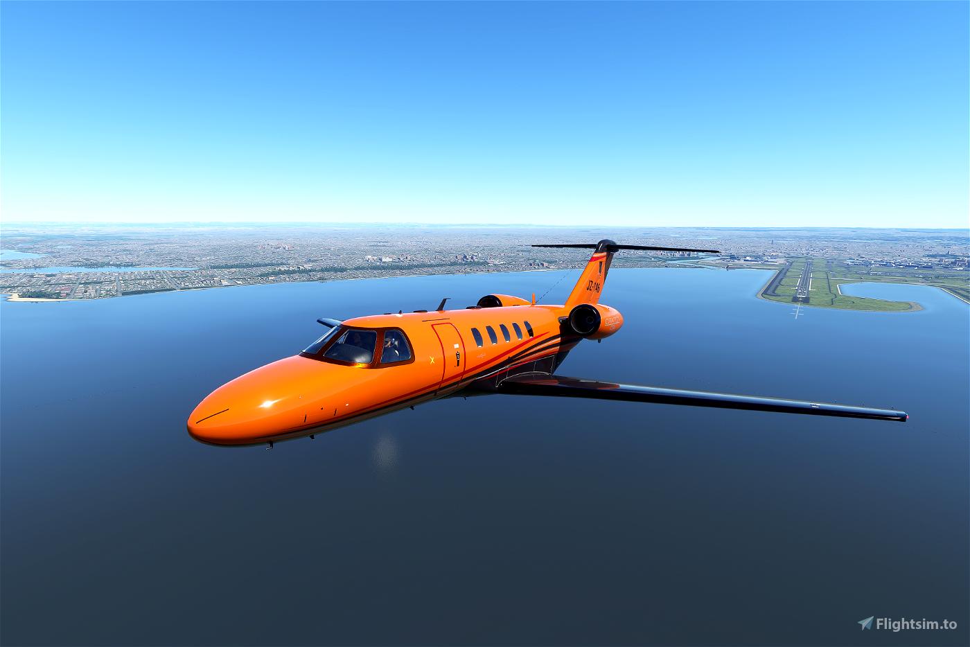 Cessna CJ4 Citation X series (Now in 9 colours) Flight Simulator 2020