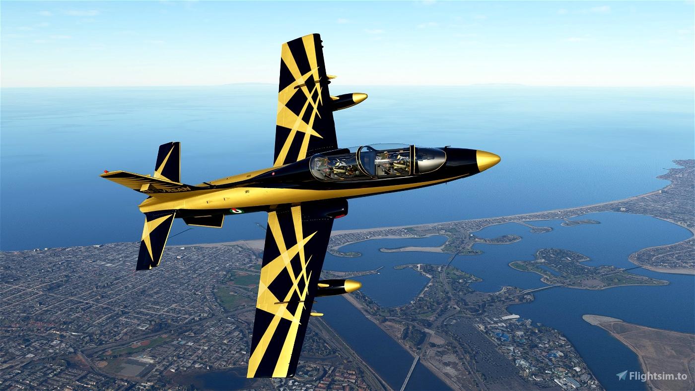 MB339PAN UAE AL FURSAN PAINT Flight Simulator 2020