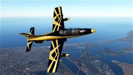 MB339PAN UAE AL FURSAN PAINT Image Flight Simulator 2020