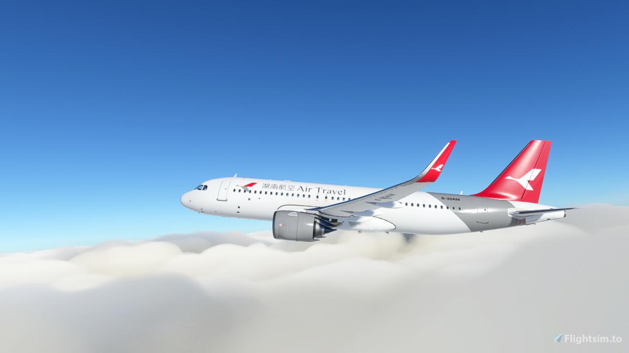 Air Travel (Hunan Airlines) Flight Simulator 2020