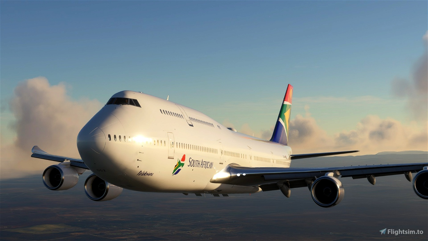 Boeing 747-8 South African Airways